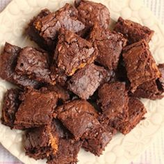 Caramel Stuffed Brownies