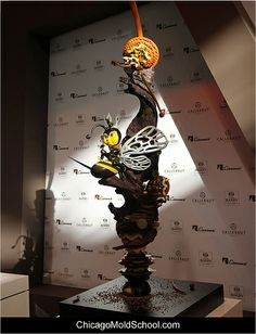 World Chocolate Masters 2013 - The Netherlands' gorgeous chocolate showpiece - The Chicago School of Mold Making