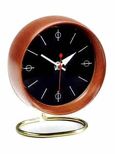 'chronopak clock' designed by the great george nelson in 1949. still produced today by vitra