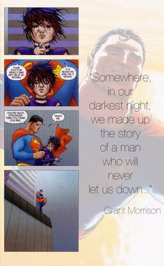 Superman taking tme out of his busy schedle to help someone in nheir darkest time. #Supermanisawesome
