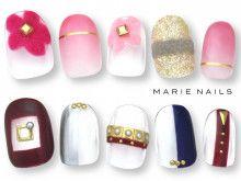 """MARIE NAILS """"マリーネイルズ""""だよ!"""