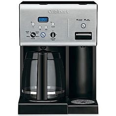 Cuisinart® 12-Cup Coffeemaker w/ Hot Water System $100