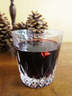 Glögg is a Scandinavian Christmas drink.  The recipes vary widely, but all of them use either red wine or port as a base with the addition of mulling spices, sugar and usually other liquors such as brandy or vodka.  It's great to get you through the cold winter season!