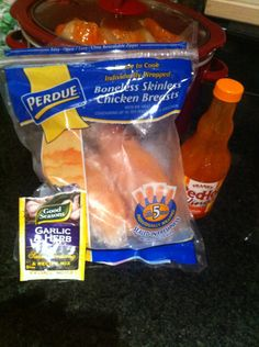 Healthy Buffalo Chicken – Crock Pot Recipe! This stuff is the Shizzzzz. @Cindy Dehart made it at the lake.