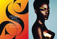 Fred & Ginger Vintage: Shingai Shoniwa - Harper's Bazaar UK, March 2011