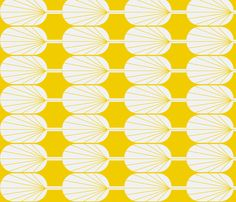 Florence Broadhurst inspired, FanPod is a radiant pattern in a large scale. Awesome for soft furnishings: Lamp shades, cushions, upholstery, drapes. FABULOUS!