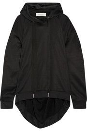 Marques' AlmeidaOversized cotton-blend hooded top