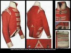 Redcoated from (give or take a few years. - Armchair General and HistoryNet >> The Best Forums in History Military Coats, Military Uniforms, British Uniforms, War Of 1812, Army Uniform, New Brunswick, Napoleonic Wars, British Army, Men Sweater