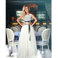 Elena @lena_pischikova  in dress by Coo Culte