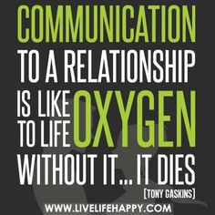 So true communicating is a big key in a relationship!! I love to communicating:)