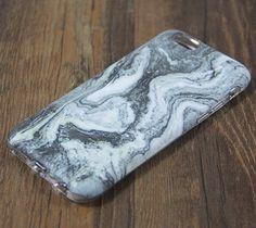 Natural Marble Grey iPhone 6s 6 Tough Case/Plus/5S/5C/5/SE Dual Layer Case