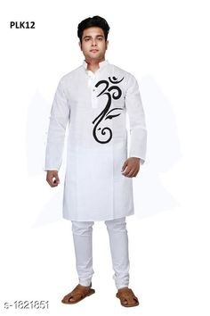 Kurtas Men's Trendy Stylish Poplin Hand Printed Kurta Fabric: Poplin Sleeves: Full Sleeves Are Included Size:  SMLXL2XL3XL4XL5XL (Refer Size Chart) Length: Refer Size Chart Type: Stitched Description: It Has 1 Piece Of Men's Kurta Work: Hand Printed Country of Origin: India Sizes Available: XS, S, M, L, XL, XXL, XXXL, 4XL, 5XL, 6XL *Proof of Safe Delivery! Click to know on Safety Standards of Delivery Partners- https://ltl.sh/y_nZrAV3  Catalog Rating: ★4 (455)  Catalog Name: Men's Trendy Stylish Poplin Hand Printed Kurtas Vol 1 CatalogID_239570 C66-SC1200 Code: 535-1821851-