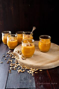 Delicious Shots: Coconut, Ginger and Butternut Squash Soup