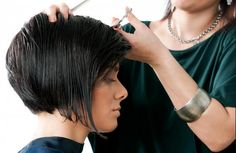 Hair Thinning Scissors A professional hair salon isn't complete without a good pair of hair thinning scissors to blend styles and add your own unique touch to your customer's hair.  http://goo.gl/Qk3cp9