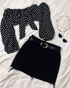 Girls Fashion Clothes, Teen Fashion Outfits, Cute Casual Outfits, Cute Summer Outfits, Girly Outfits, Mode Outfits, Retro Outfits, Look Fashion, Outfits For Teens