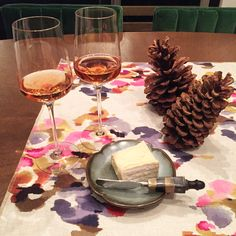 Because some Wednesdays you just need rosé Champagne and triple cream brie.