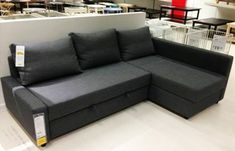 Lugnvik Sofa Bed With Chaise Dimensions