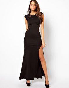Graceful Sexy Lace Slim Split Dress &Party Dress