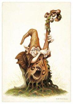 Pascal Moguérou | Fées, elfes, lutins, gnomes, faunes, sirènes et ondines | Peuple Féerique - Le Petit Monde de Richard Ely
