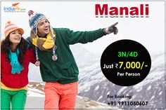 Independence day long weekend Manali holiday tour packages @7000/-  Choose and personalize your holiday package from Expert Agents at indiafly.com. All Inclusive: Volvo+Meal+Stay+Sightseeing  Know more details visit :  http://booking.indiafly.com/packages/domestic/manali/manali-volvo-5865