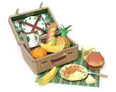 Food set papermodel | โมเดลกระดาษ