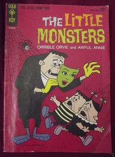 The Little #Monsters #ComicBook First Edition #GoldKey 1964 10130-411.