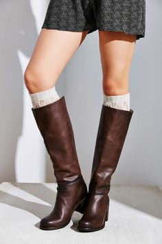 Andie OTK Tall Boot - Dark Brown | Leather Riding Boots ...