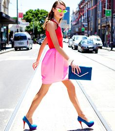 @Who What Wear - 16 Outfits That Make Us Want To Wear More Color
