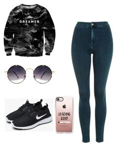 """Untitled #2"" by havynj on Polyvore featuring beauty, Mr. Gugu & Miss Go, Topshop, NIKE, Spitfire and Casetify"
