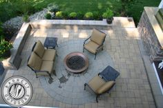 There is so much you can do with Barrett Outdoors the attached paver patio with a fire pit make this a vacation hot spot.