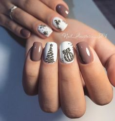 Ready to decorate your nails for the Christmas Holiday? Christmas Nail Art Designs Right Here! Xmas party ideas for your nails. Be the talk of the Holiday party with your holiday nail designs. Cute Christmas Nails, Christmas Nail Art Designs, Xmas Nails, Holiday Nails, Fun Nails, Red Christmas, Snow Nails, Christmas Ideas, Christmas Glitter