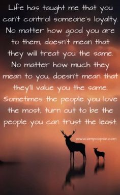 While I wish more than anything this wasn't true.... it's crazy just how much truth there is in this saying...