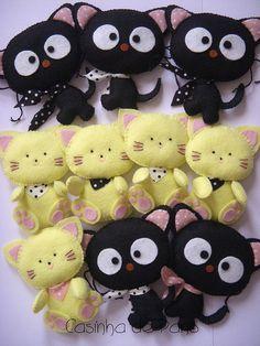 Gattini di feltro