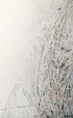 De wandelaar, schilderij van Kuhlmann Kunst, Twan Kuhlmann .. Kunst / Abstract / Modern / Schilderij
