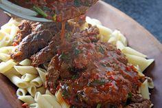ITÁLIA: Estofado de Roast Beef