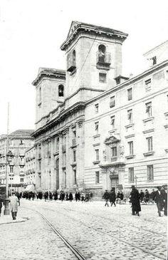 Colegiata de San Isidro en la Calle Toledo 1928.