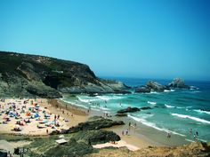 Zambujeira do Mar beach, Odemira, Alentejo, Portugal. Photo by Márcia Castro. Where to stay: http://www.feriasemportugal.pt/en/regions/region-alentejo/district-beja/county-Odemira/