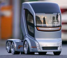 Futuristic Truck, Future Vehicle, Volvo Concept Truck 2020..... just had to add this ...