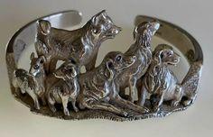 Kabana Sterling Silver Dog Cuff Bracelet | eBay Dog Jewelry, Sterling Silver Cuff Bracelet, Bracelet Sizes, Jewels, Things To Sell, Bracelets, Dogs, Ebay, Jewerly
