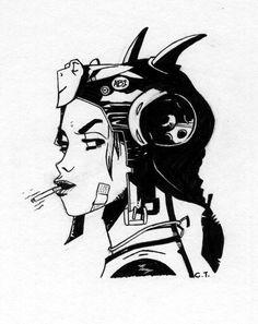 Tank Girl I by ~skate-alco on deviantART