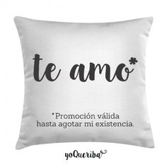 Cojín blanca con mensaje Love Gifts, Gifts For Dad, Diy Gifts, Ideas Aniversario, Special Images, Relationship Gifts, Girl Blog, Cool Diy, Bed Pillows