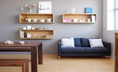 how to build nice wall shelves - Google Search