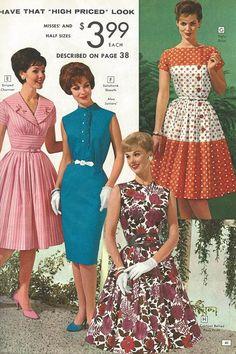 """""""National Bellas Hess"""" catalog, Spring-Summer 1962"""