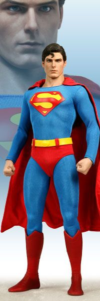 """Figure of Christopher Reeve as Superman from the 1978 movie """"Superman: The Movie""""! This was the first Superman that I knew and I would watch his movies every time they came on!"""