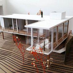Student exercise, representation techniques IV. # 2017 By @camilodelgado505 Daniel ballen ... University of Pamplona. #maquetacion #madera #maqueta #maquetas #arquitectonica #architect #architecture #student #arch #architecture #architecture #representation #model #upa Source @arley.arch