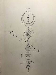 Pisces, Capricorn, and Gemini tattoo concept