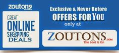 Zoutons: Best Place to get online Discount coupons