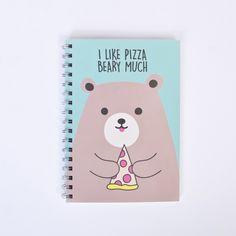 Cuaderno Like Pizza - Todomoda
