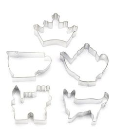 Another great find on #zulily! English Tea Cookie Cutter Set #zulilyfinds