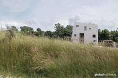 House as a Rock in the dunes